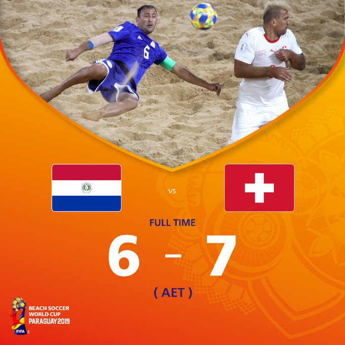 Hosts Paraguay suffer group stage elimination at FIFA Beach Soccer World Cup