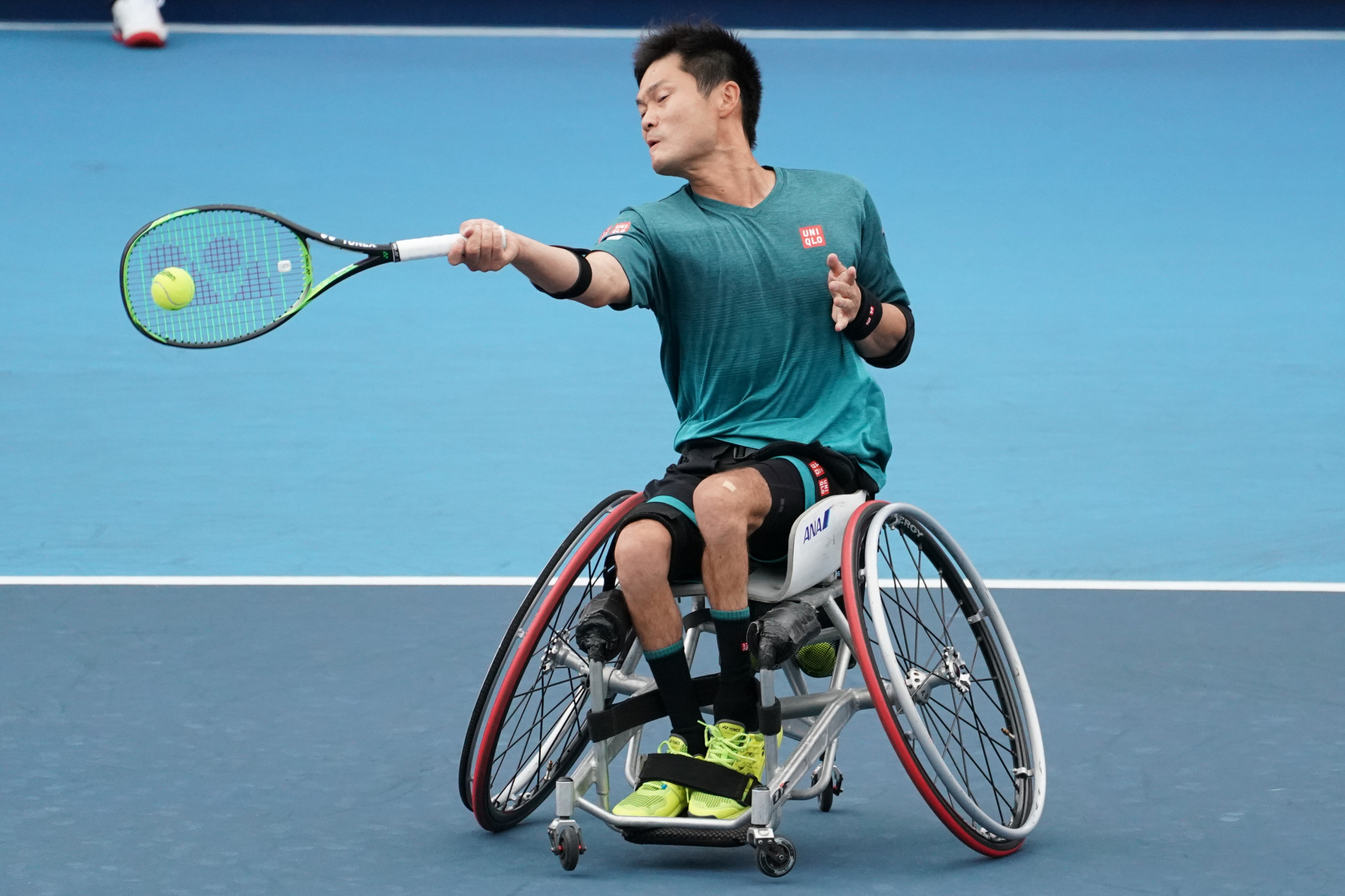 Kunieda continues campaign for fourth NEC Wheelchair Singles Masters title