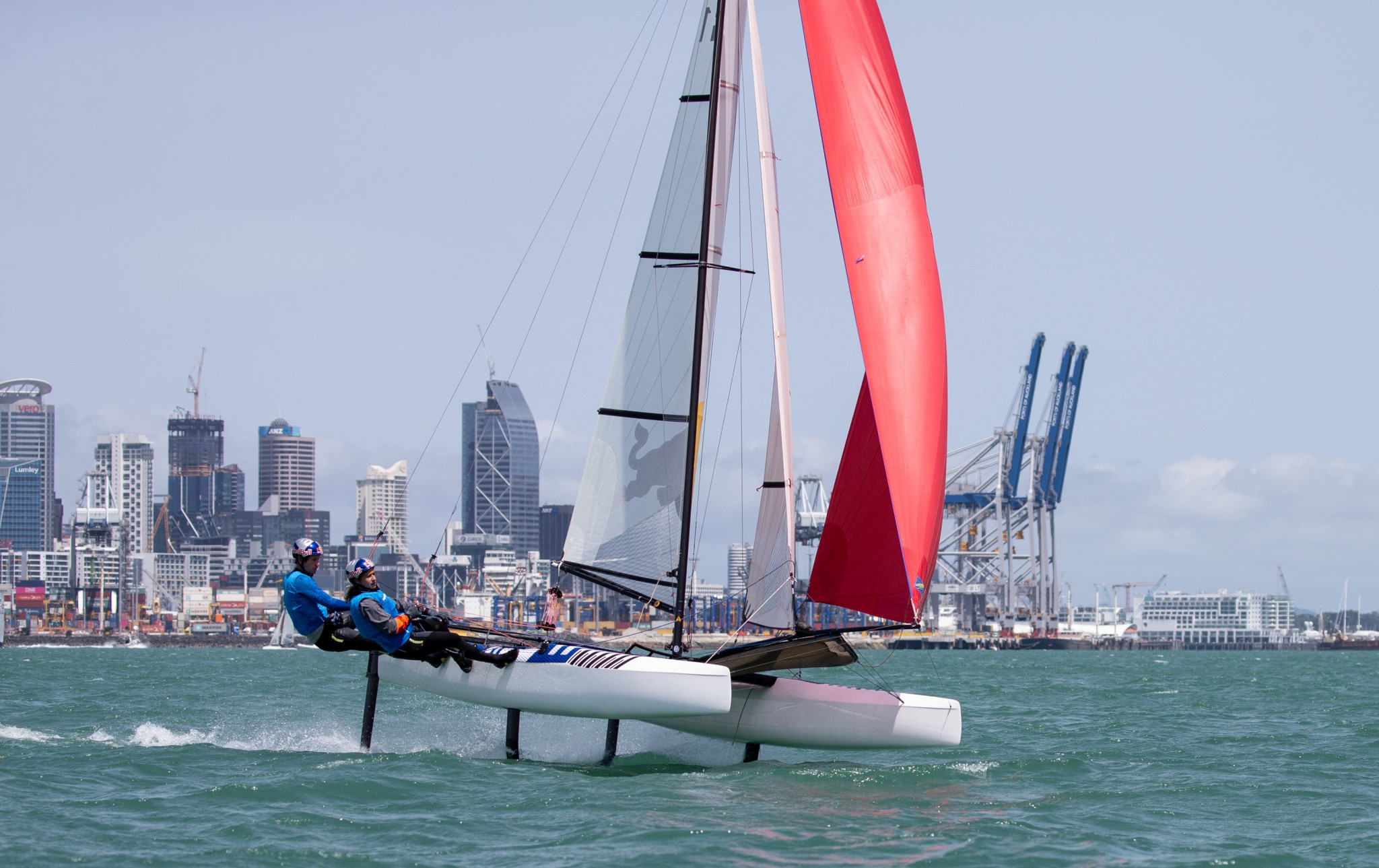 Sailors set to prepare for world stage at 49er, 49erFX and Nacra 17 Oceania Championships