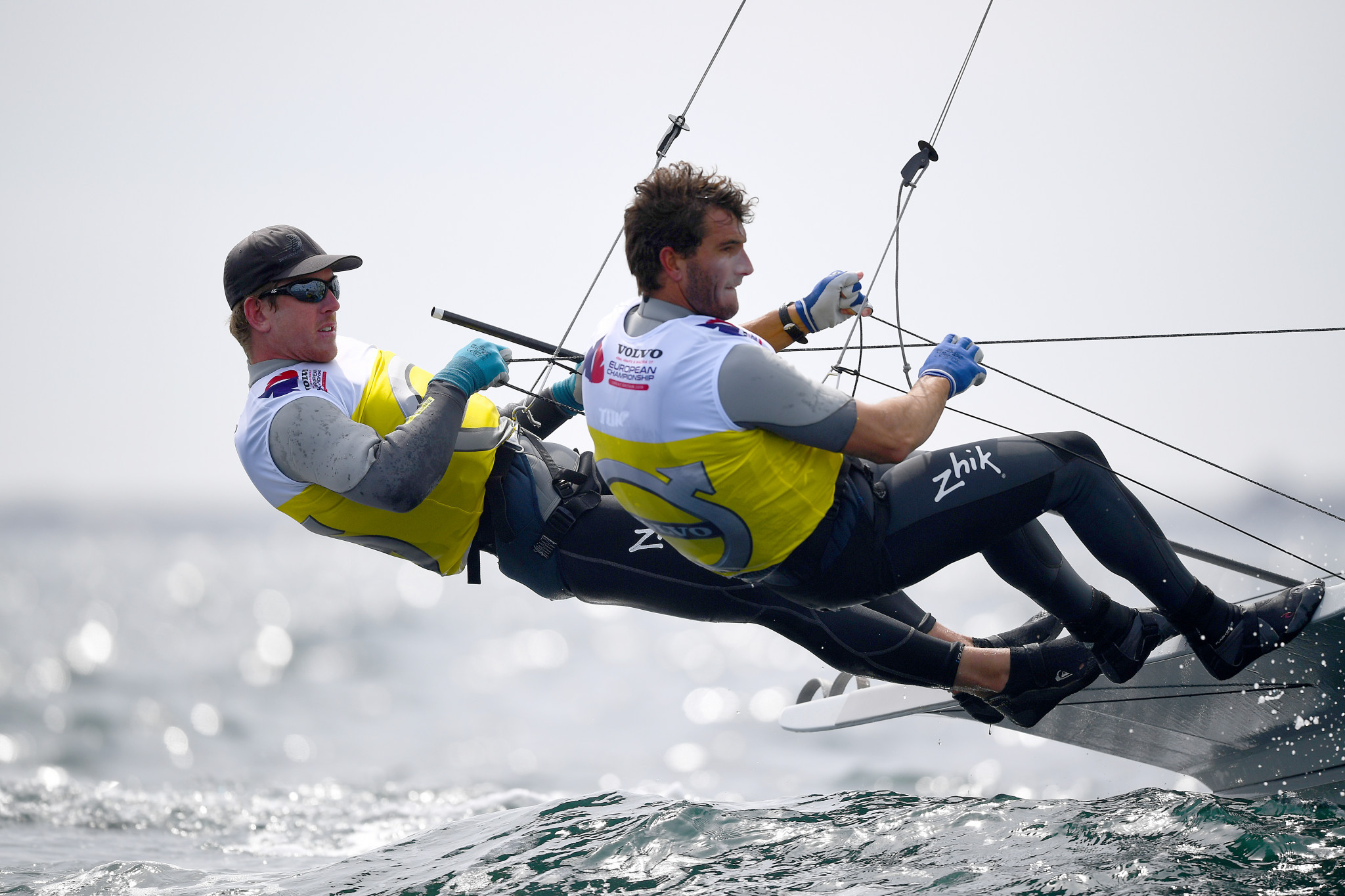 Peter Burling and Blair Tuke of New Zealand are considered medal contenders in the 49er class ©Getty Images