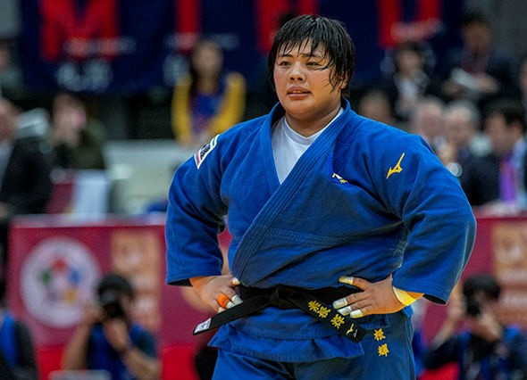 Sone Akira booked her place at the Tokyo 2020 Olympics with victory in the over-78 kilogram event at the IJF Osaka Grand Slam ©IJF