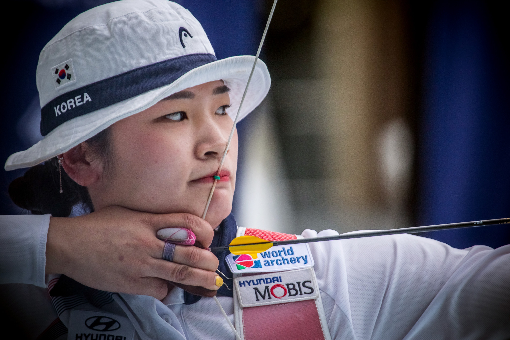 Recurve world number one Kang tops first round of Asian Archery Championships