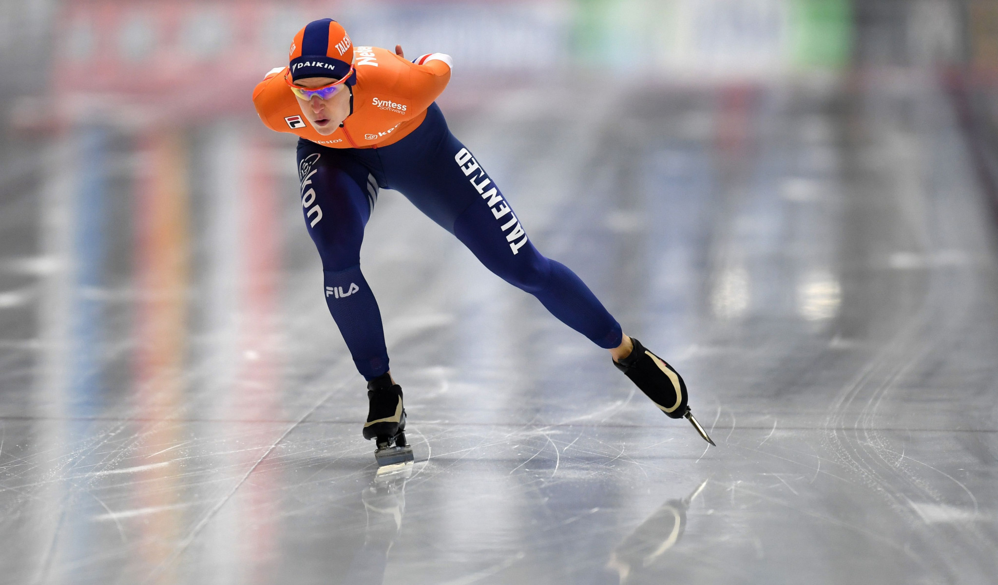 The Netherlands'  Ireen Wüst earned back-to-back 1,500m World Cup wins at the ISU Speed Skating World Cup in Tomaszów Mazowiecki ©Getty Images