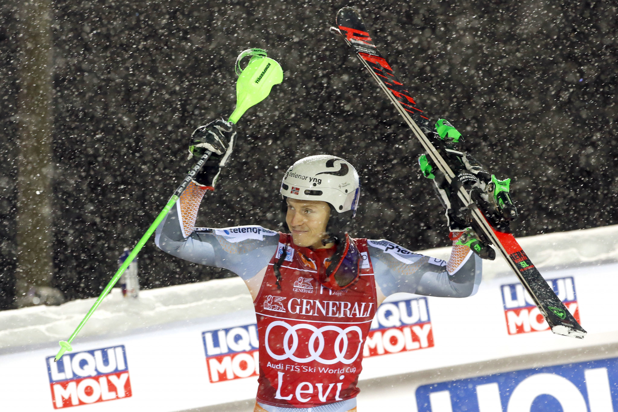 Kristoffersen reclaims FIS Alpine Skiing World Cup title in Levi