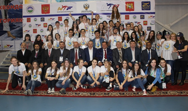 Nalchik in Russia hosted the first Olympic Weight Categories Championships in 2015 ©WTE