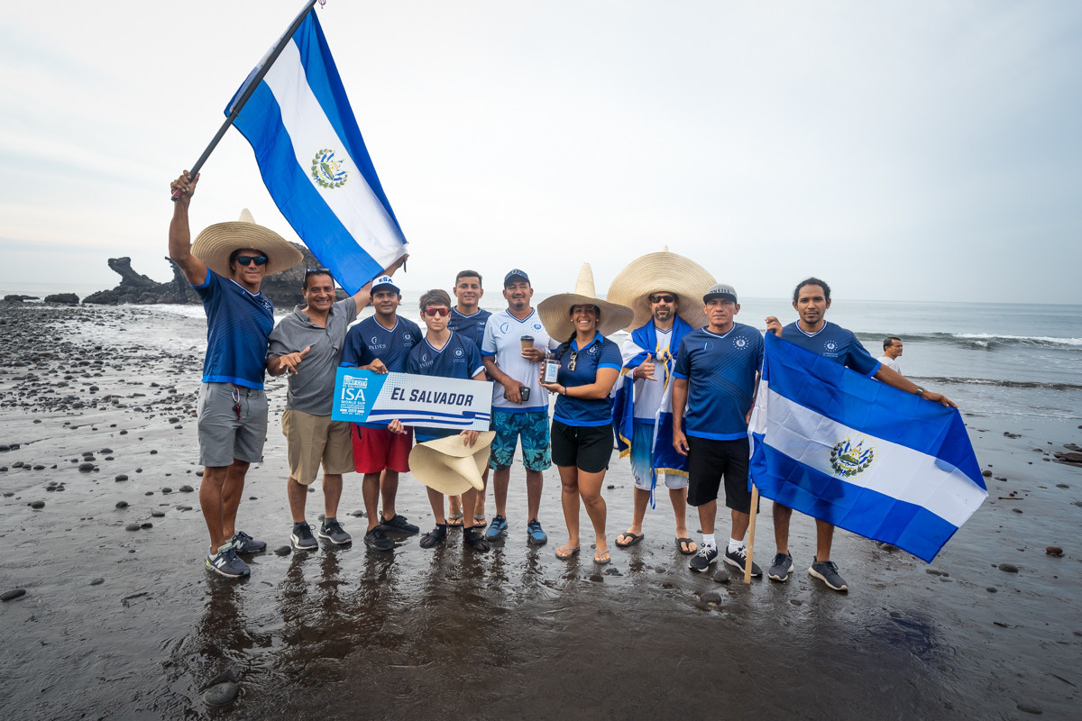 Colourful parade of nations officially opens ISA World Stand-Up Paddle and Paddleboard Championship