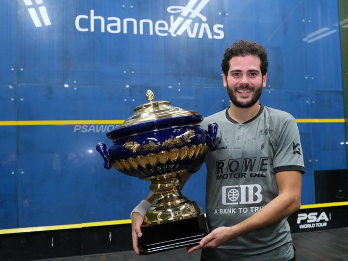Abdel Gawad overcomes world number two ElShorbagy to win Channel VAS Championships