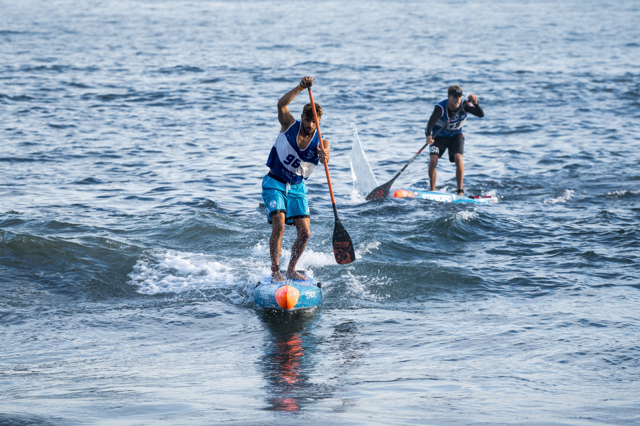 Howson and Nika claim sprint golds as ISA World StandUp Paddle and Paddleboard Championship