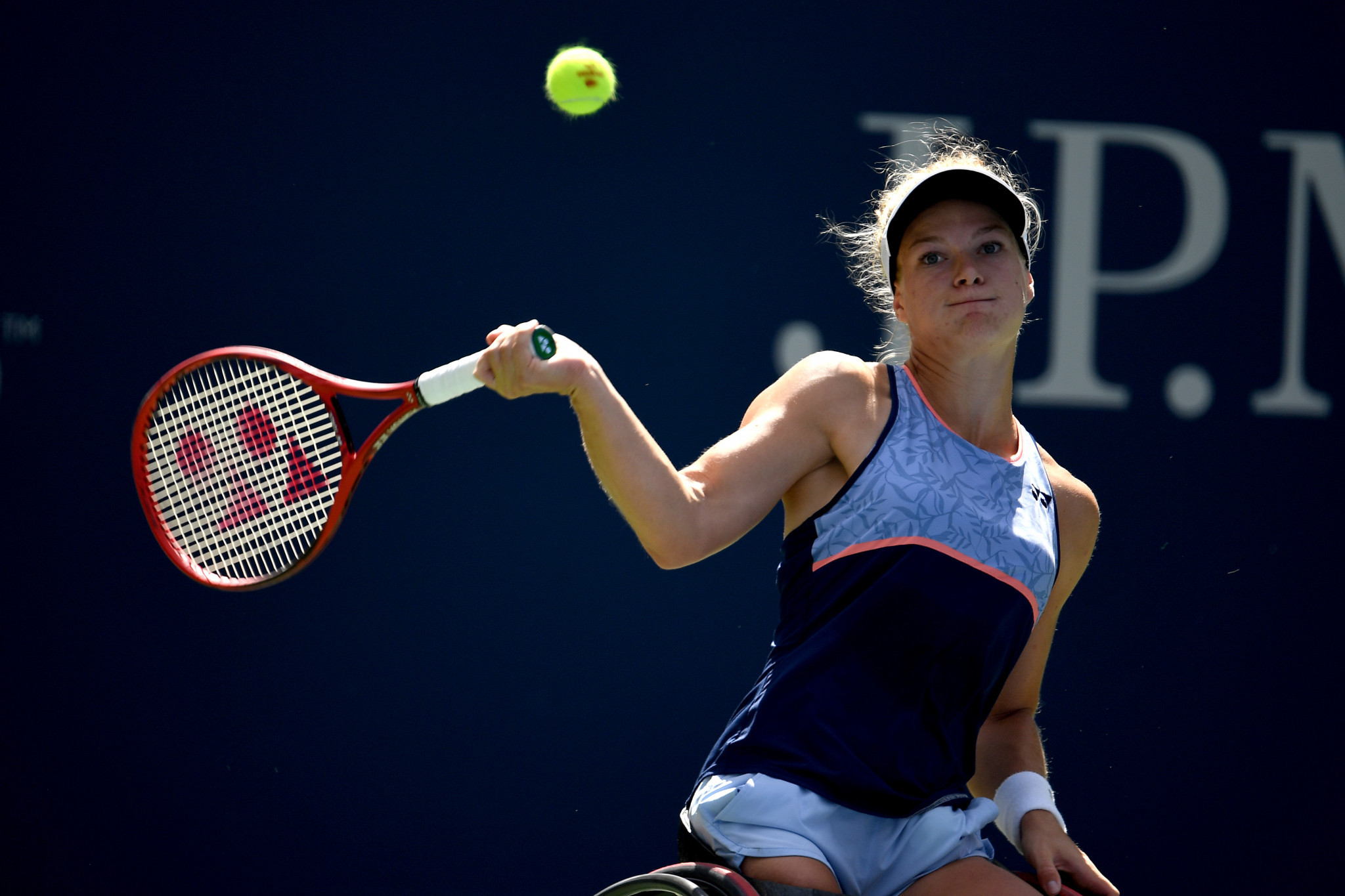 Dutchwoman Diede de Groot continued her successful year by reaching the NEC Wheelchair Singles Masters final ©Getty Images