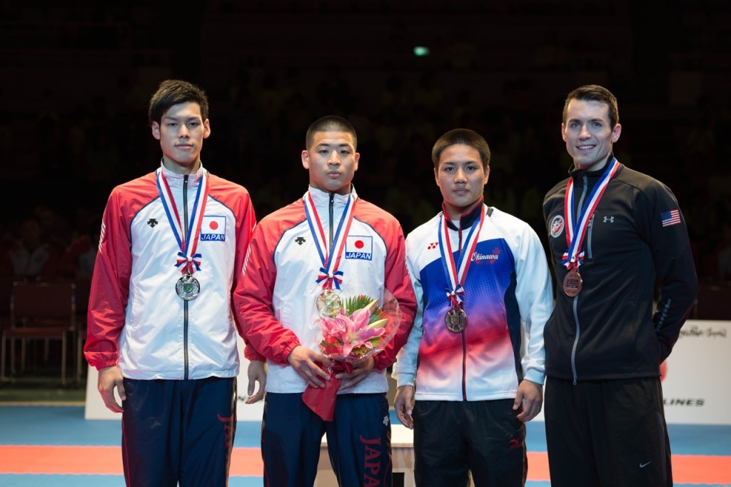 Japan finished the event in Okinawa in style with seven gold medals on the final day ©Xavier Servolle/WKF