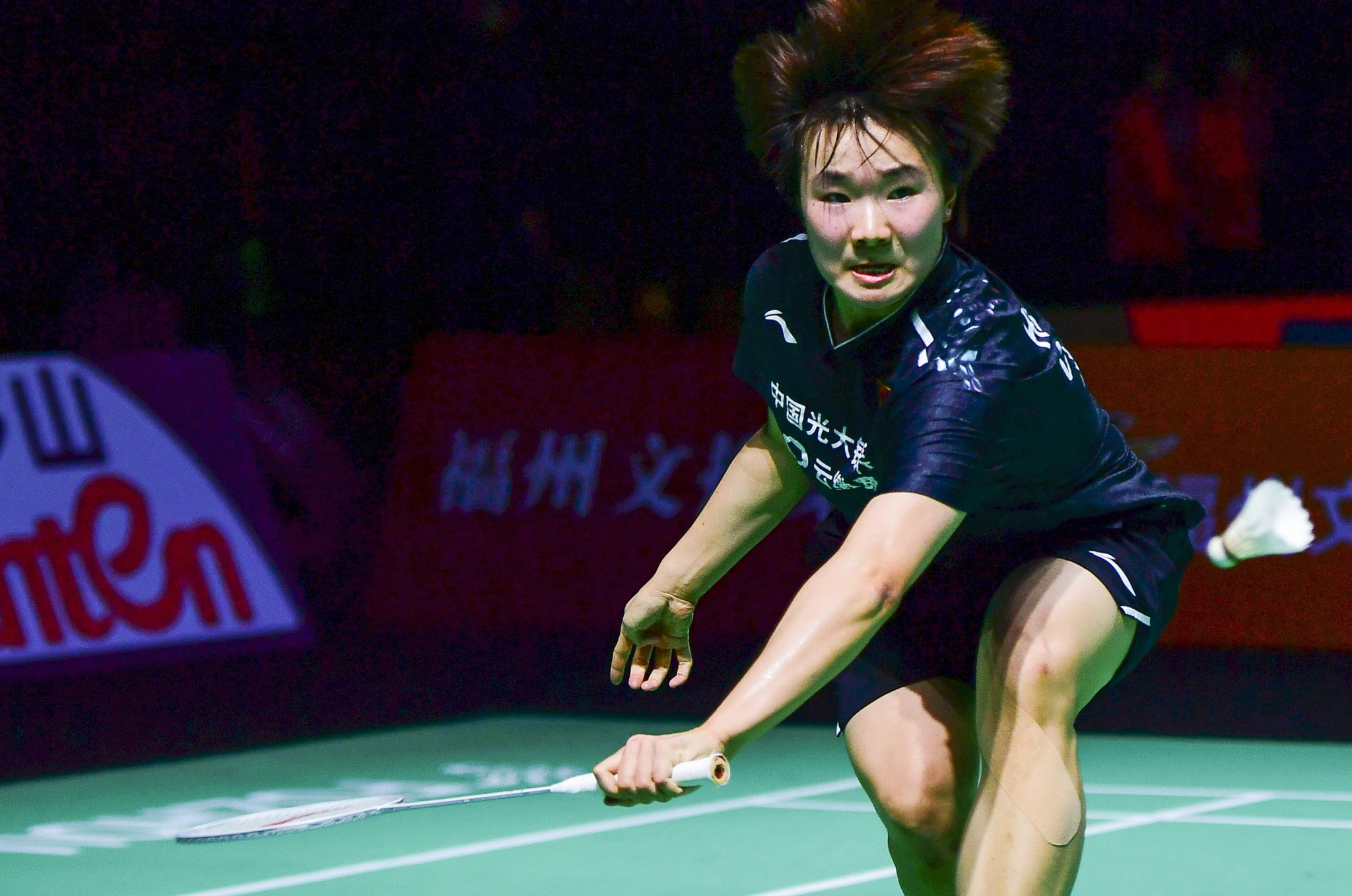 He Bingjiao of China is the women's top seed at the Syed Modi International Championships ©Getty Images