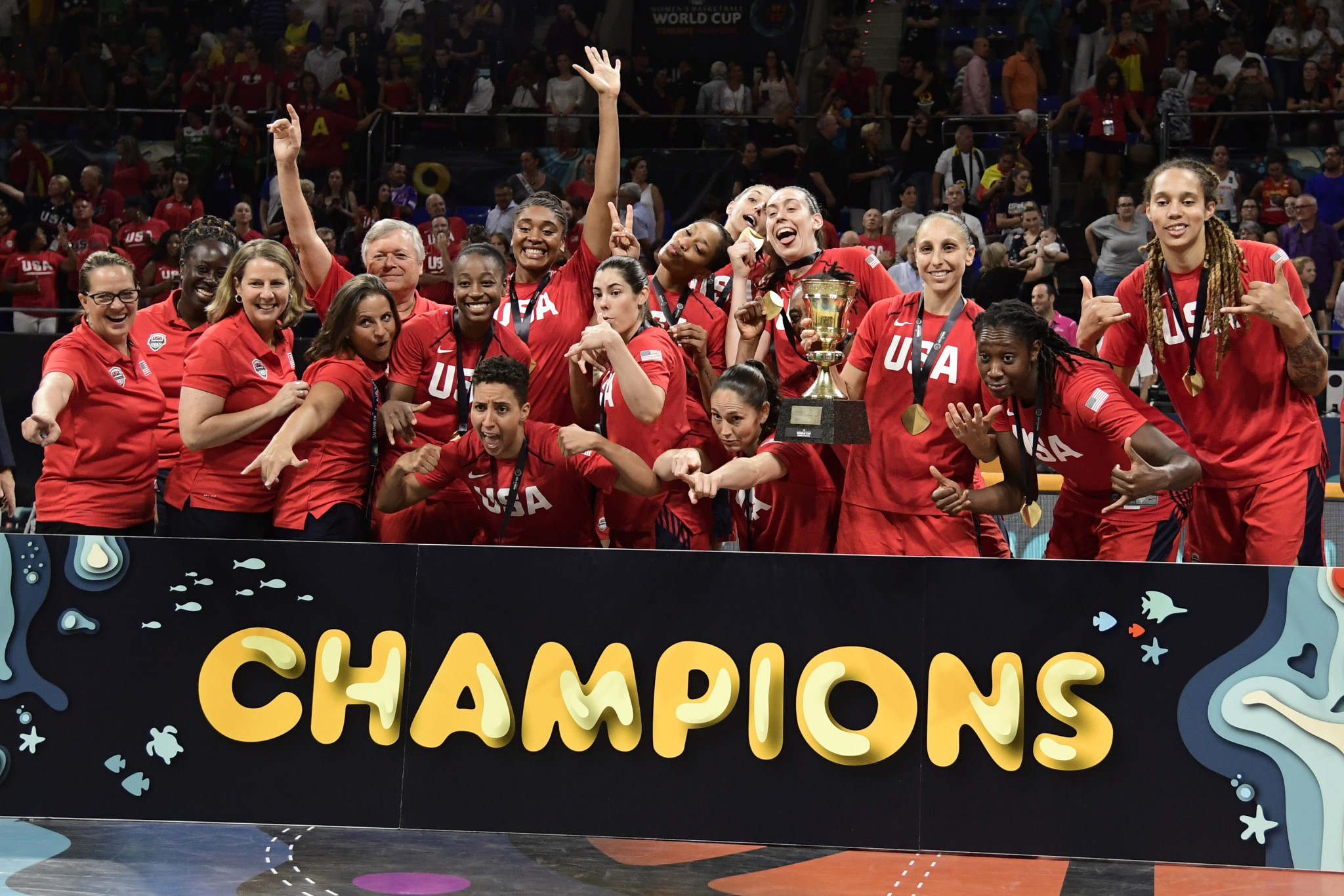 United States announced as top seeds for FIBA Women's Olympic Qualifying Tournament draw