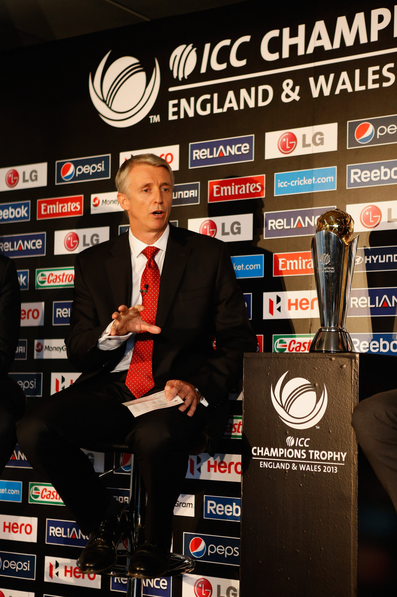 Steve Elworthy has been the director of six International Cricket Council events in two countries ©Getty Images