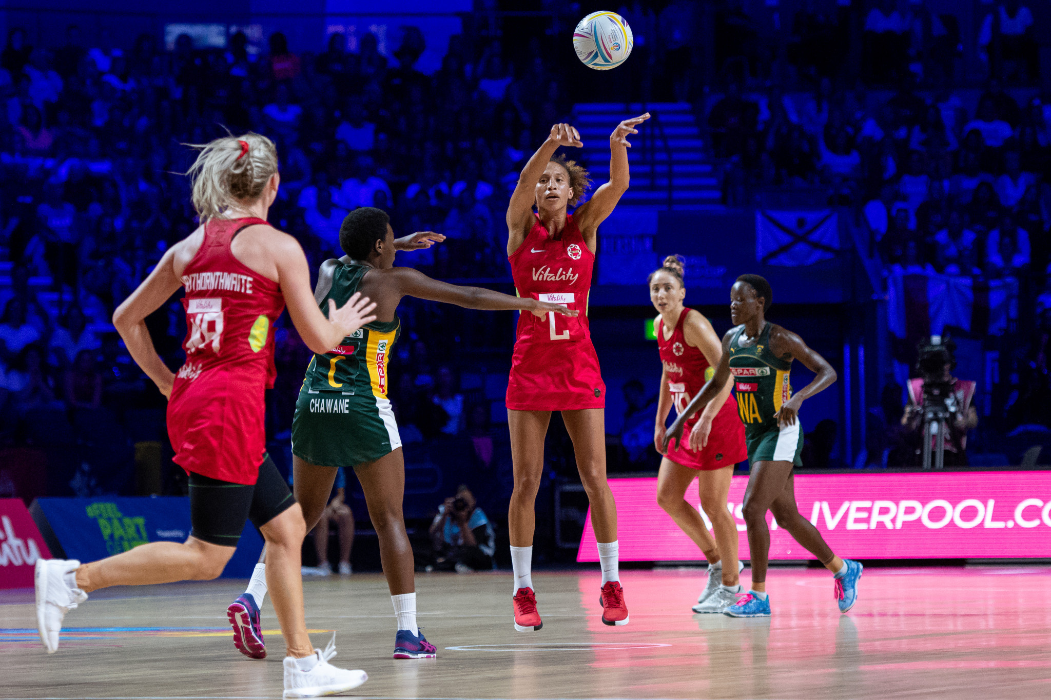 Steve Elworthy was also the on the Board of this year's Netball World in Liverpool ©Getty Images