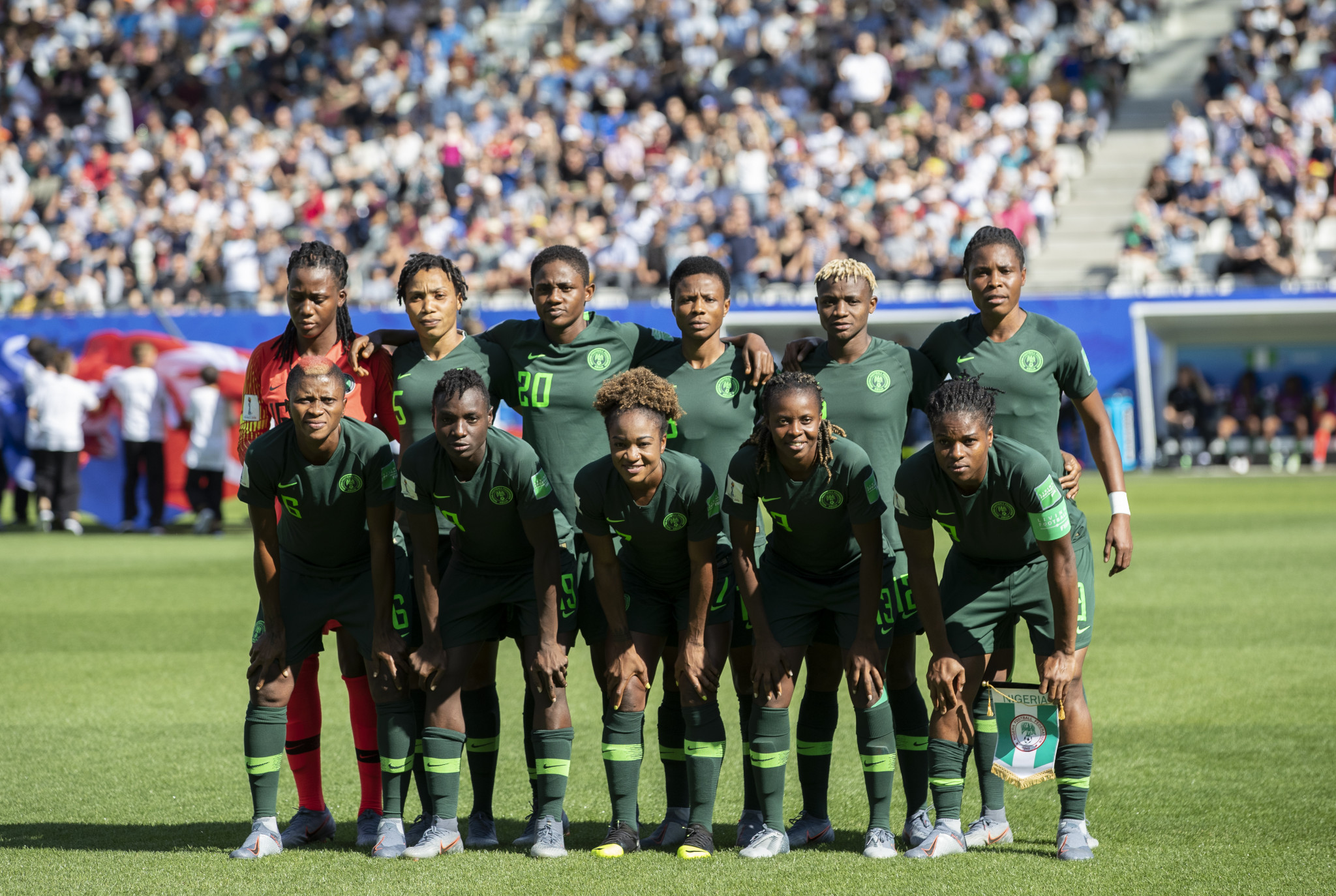 Nigeria have won the past three Women's African Cup of Nations ©Getty Images