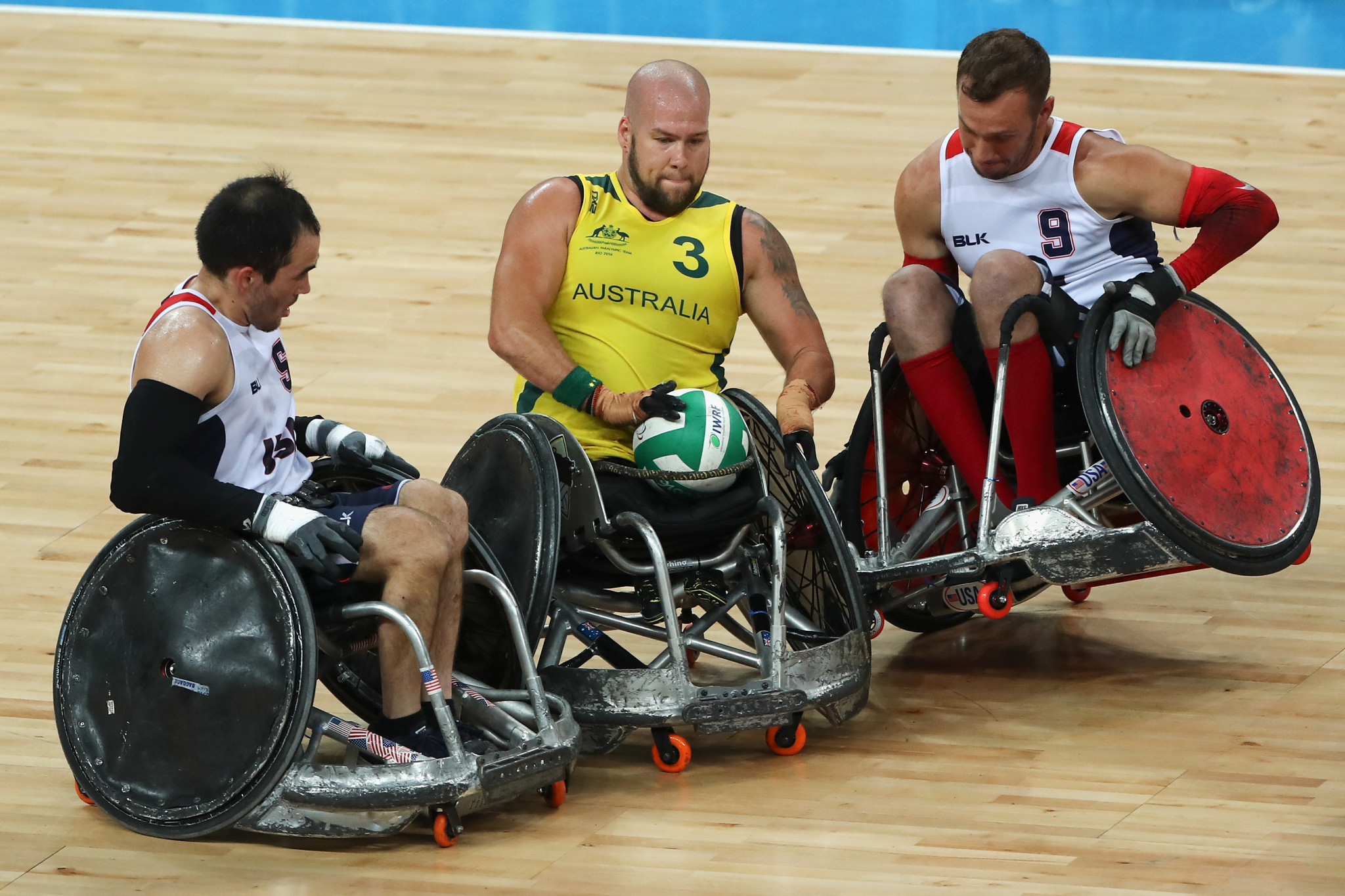 Ryley Batt helped Australia to wheelchair rugby glory at the London 2012 and Rio 2016 ©Getty Images
