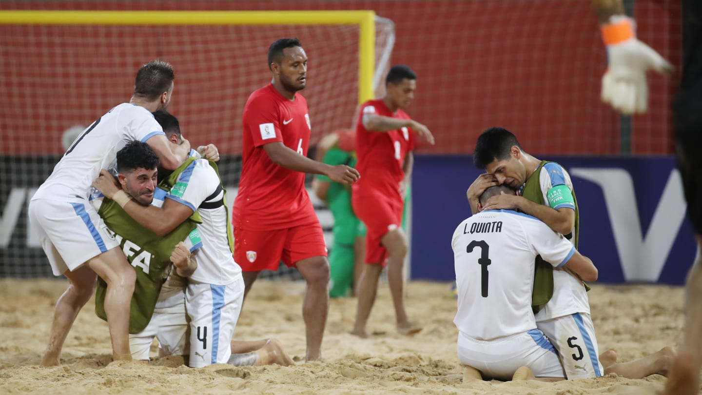 Uruguay advanced to the quarter-final of the FIFA Soccer World Cup in Paraguay, despite losing to Tahiti ©FIFA