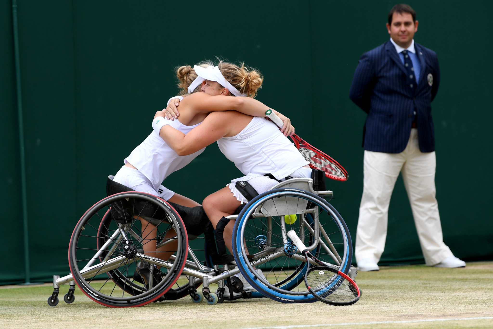 Dutch duo claim women's title at  UNIQLO Wheelchair Doubles Masters