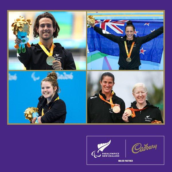 Paralympics New Zealand partner with Cadbury and encourage Kiwis to get children more active