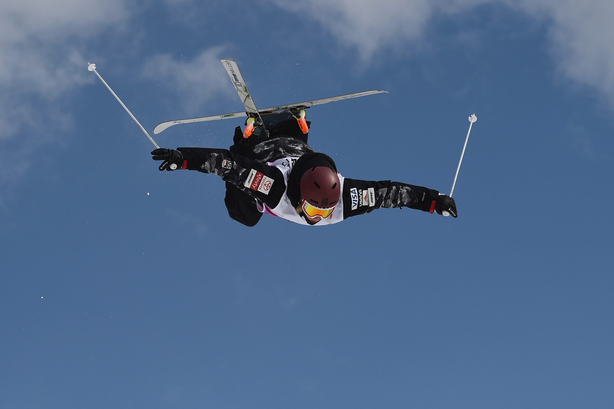 Jesse Andringa won both the men's moguls and double moguls at this year's event ©Getty Images