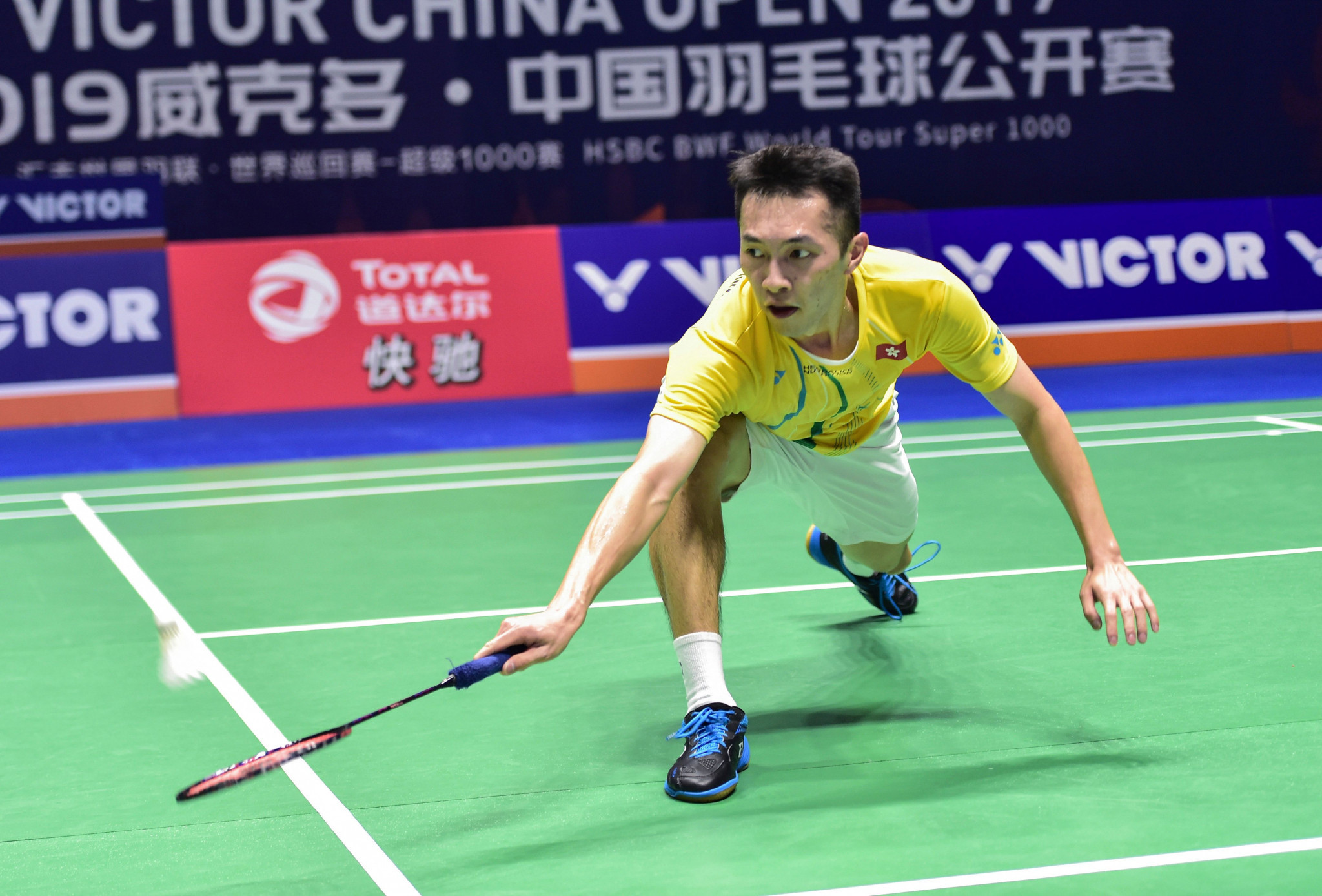 Second seed Ng Ka Long of Hong Kong withdrew from the Syed Modi International Championships ©Getty Images