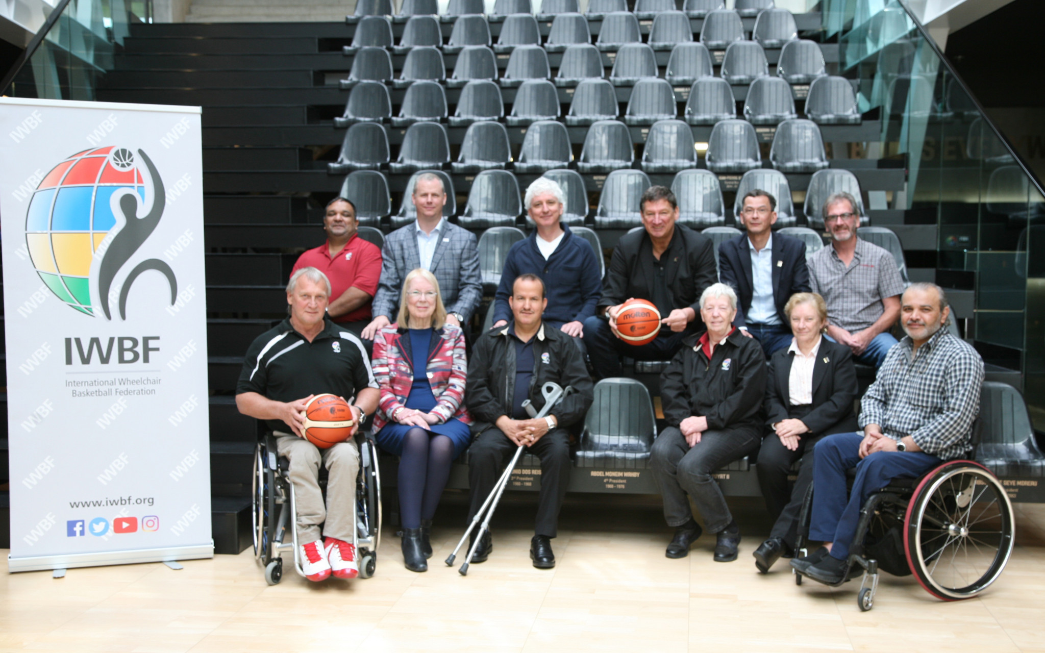 Molten was named as the global partner and official ball partner of the IWBF in April 2018 ©IWBF