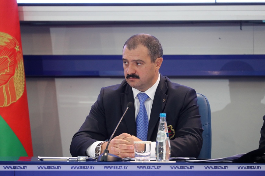 President's son elected as Belarus NOC first vice-president