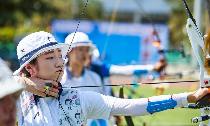 South Korea impressed on the third day of the Asian Archery Championships ©World Archery