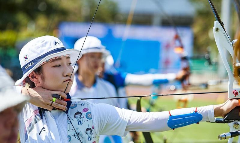 South Korean semi-final success at Asian Archery Championships