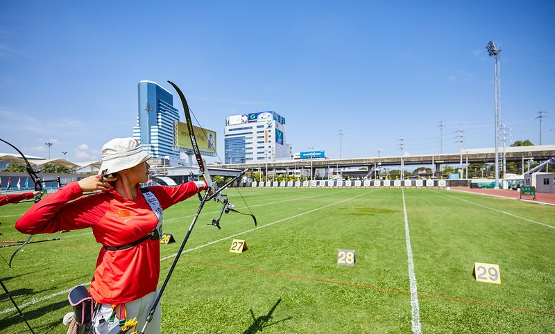 The finals are scheduled for tomorrow, when the Asian Archery Championships conclude ©World Archery