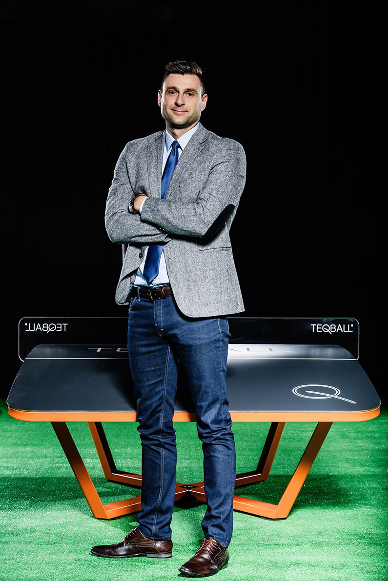 FITEQ President and co-founder of teqball Gábor Borsányi said they are