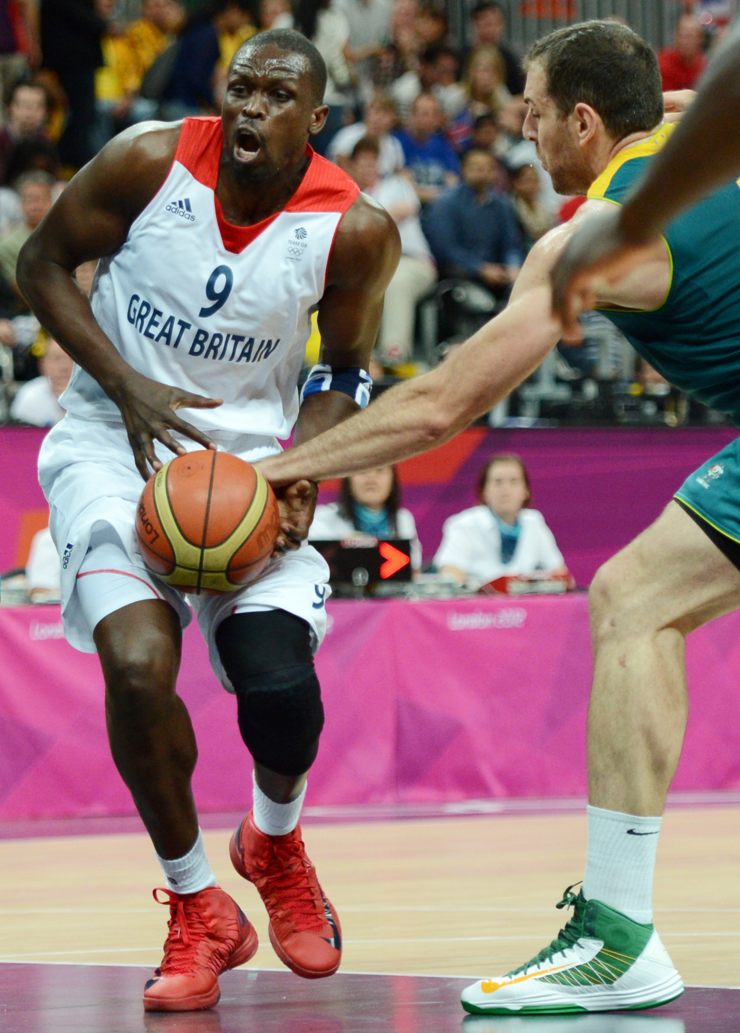 Luol Deng represented Britain at the London 2012 Olympics ©Getty Images