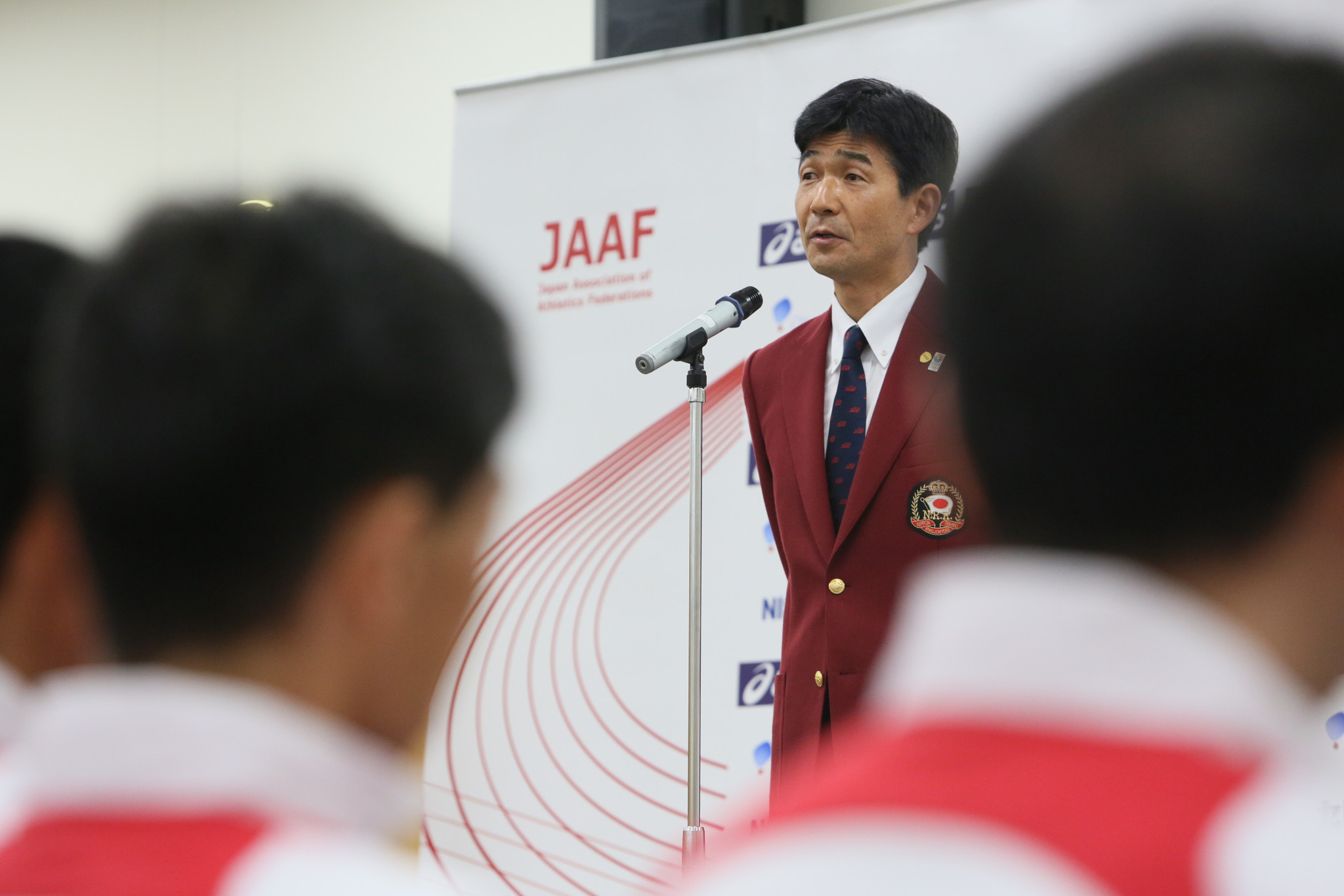 Mitsugi Ogata, senior managing director of the Japan Association of Athletics Federations, has been named as Japan's Deputy Chef de Mission for the Tokyo 2020 Olympics ©Getty Images