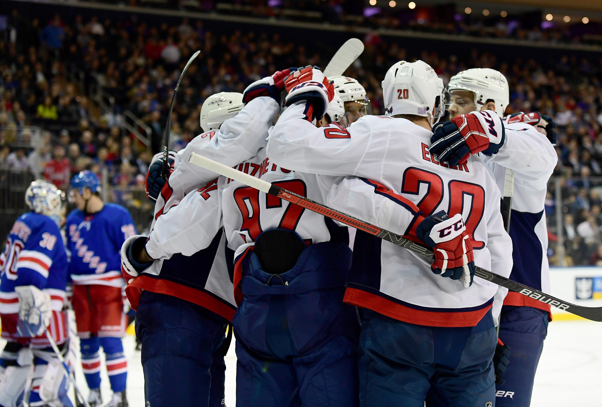 NHL team the Washington Capitals have declared their interest in playing a regular-season game in Russia or Sweden ©Getty Images