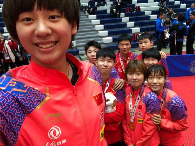 China claim both team titles again at ITTF World Junior Championships