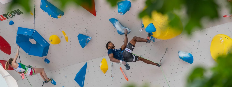 The event is the second qualifier for sport climbing's debut appearance at the Olympics ©IFSC