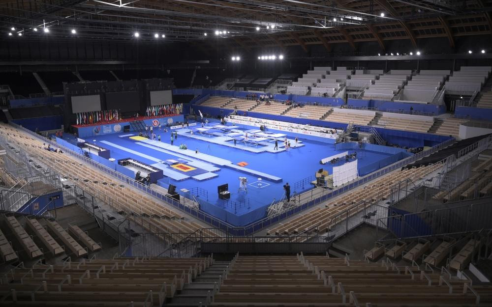 Tokyo 2020 gymnastics venue to be tested at FIG Trampoline World Championships