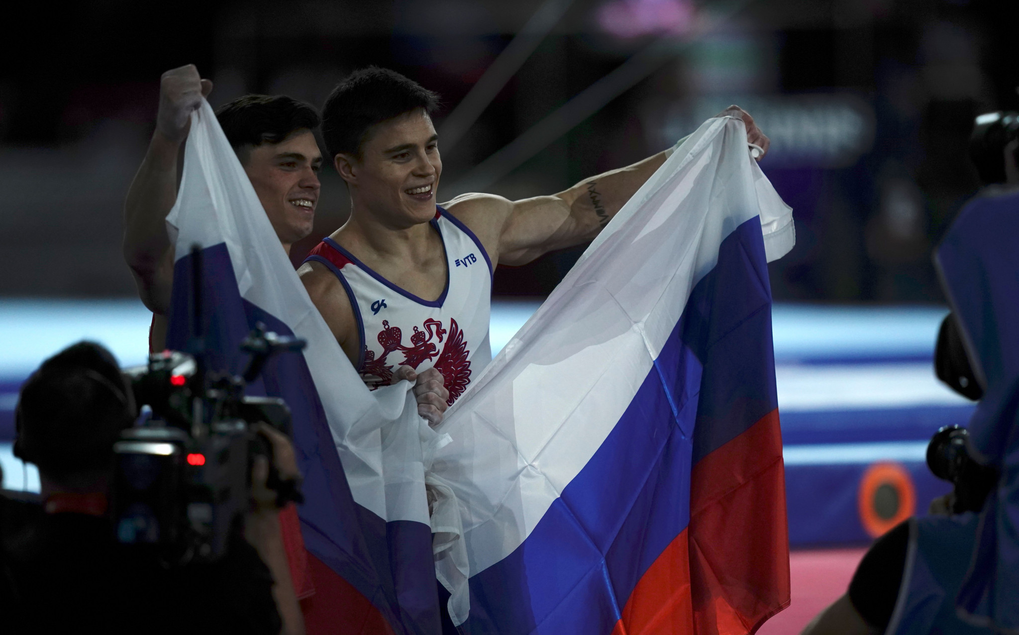 Russia's flag could be banned from major events if the World Anti-Doping Agency Executive Committee votes in favour of the CRC recommendations at its meeting in Paris next month ©Getty Images