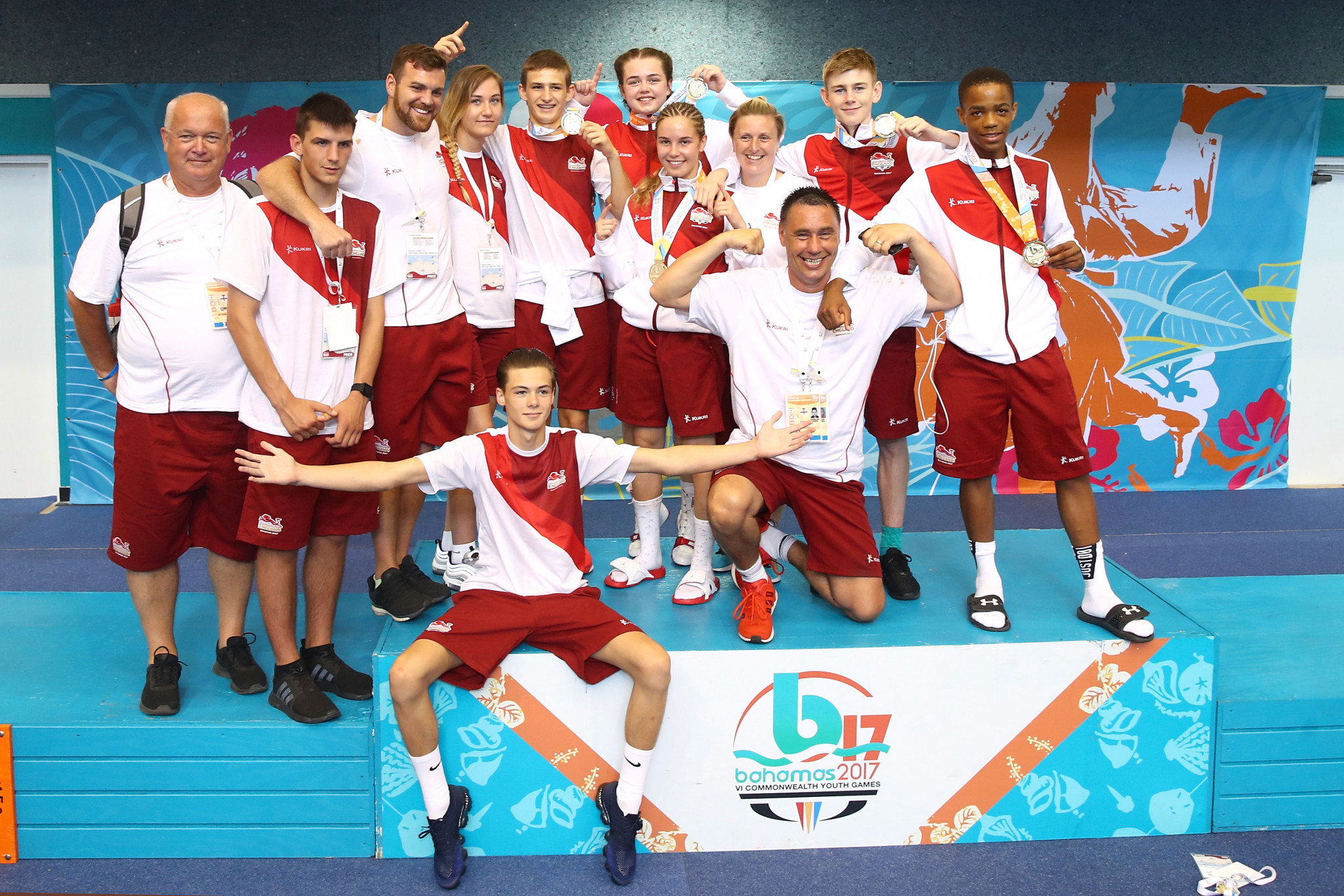 Team England finished top of the medals table at the last Commonwealth Youth Games in Bahamas in 2017 ©Getty Images