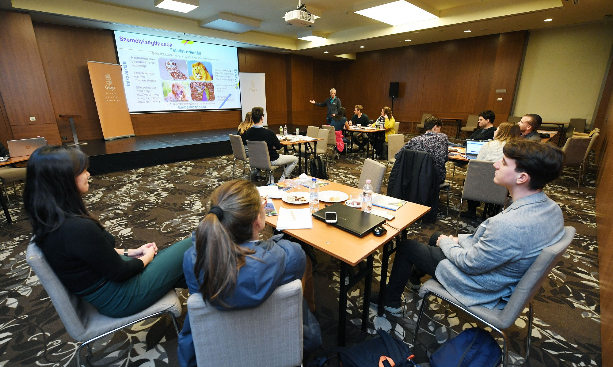 The Hungarian Olympic Committee has hosted its third Athlete Career Programme workshop ©MOB