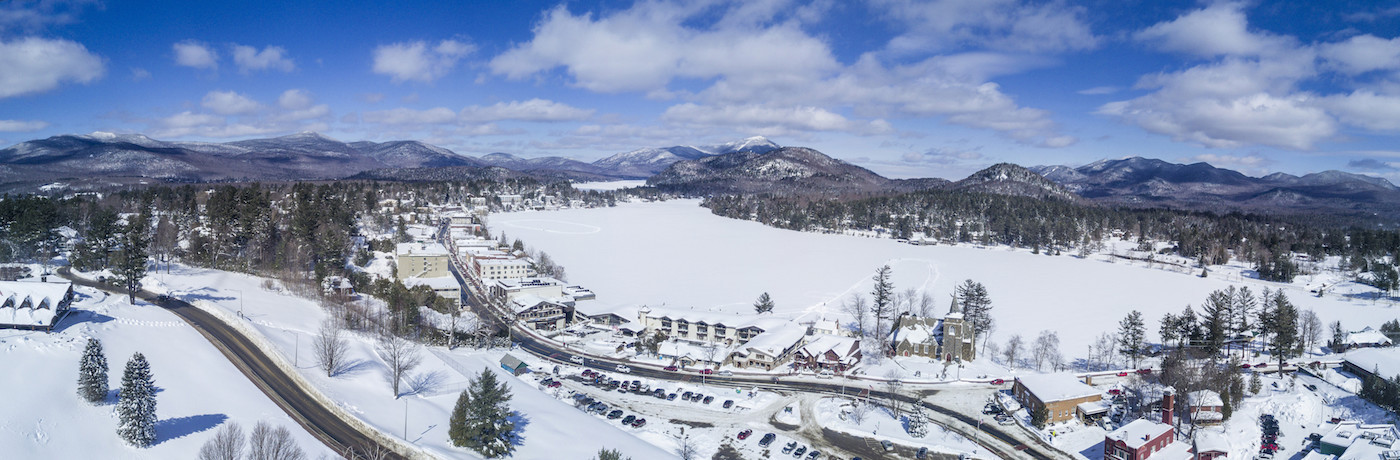 Lake Placid is in the northeastern corner of the United States ©FISU