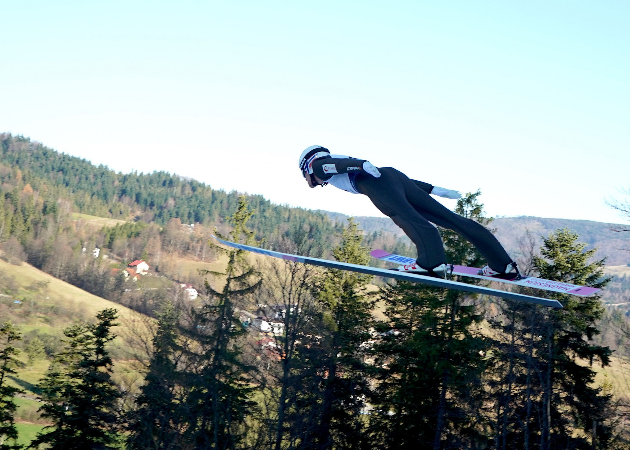 Daniel Andre Tande of Norway triumphed at the first Ski Jumping World Cup last weekend ©Getty Images