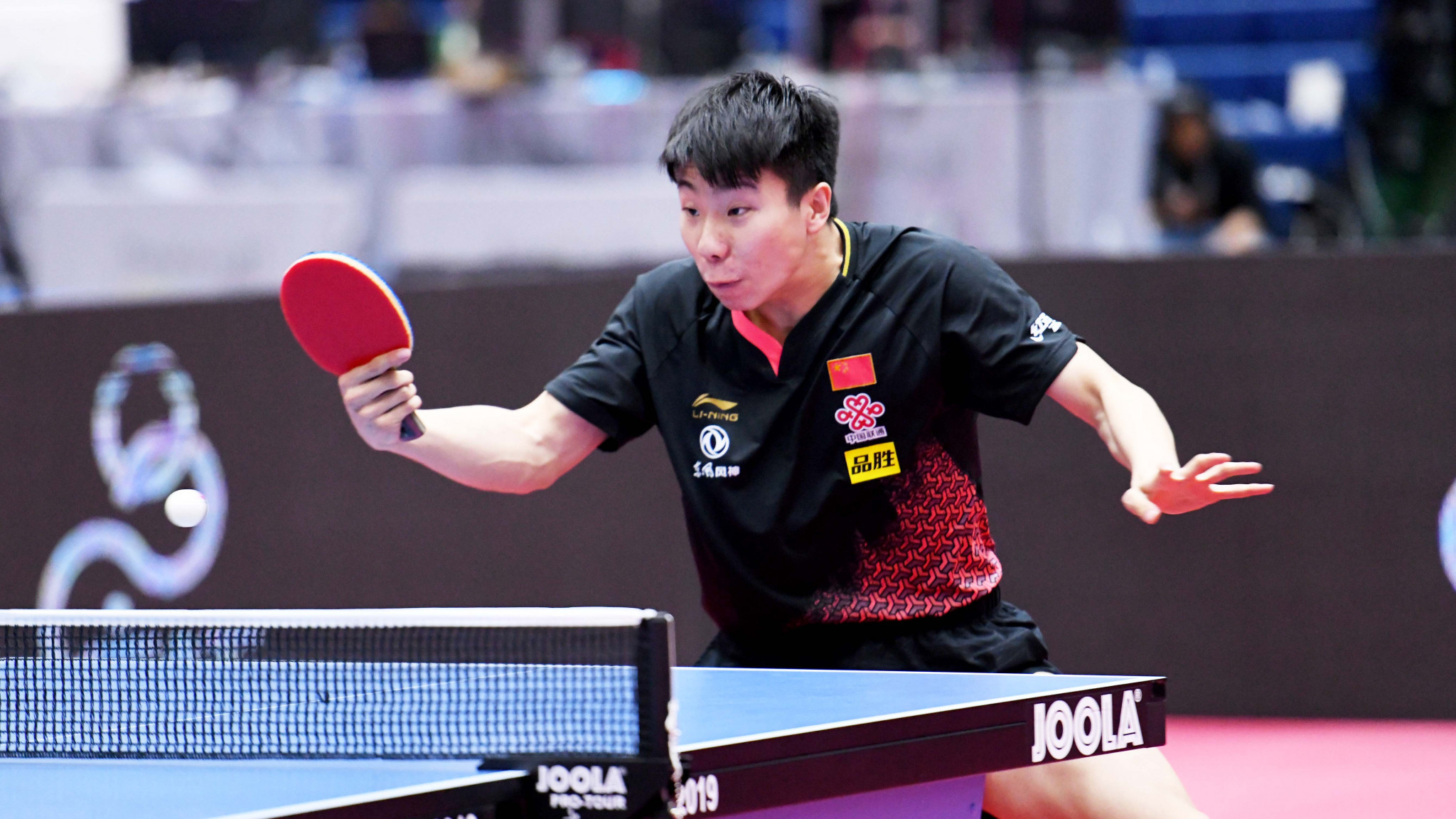 Xu Yingbin is in good form for China ©ITTF