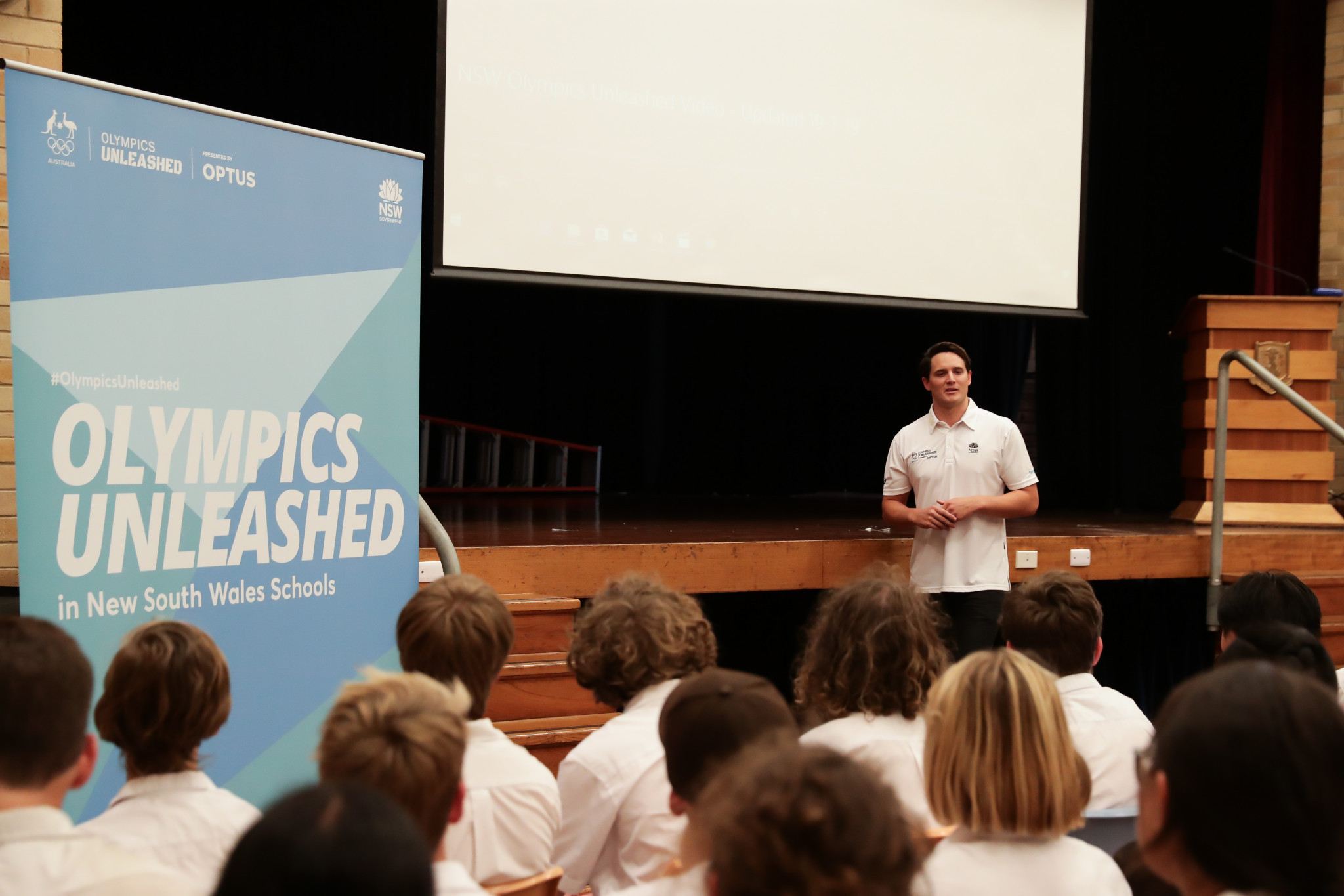 Olympics Unleashed visited its 200th school in New South Wales ©Olympics Unleashed