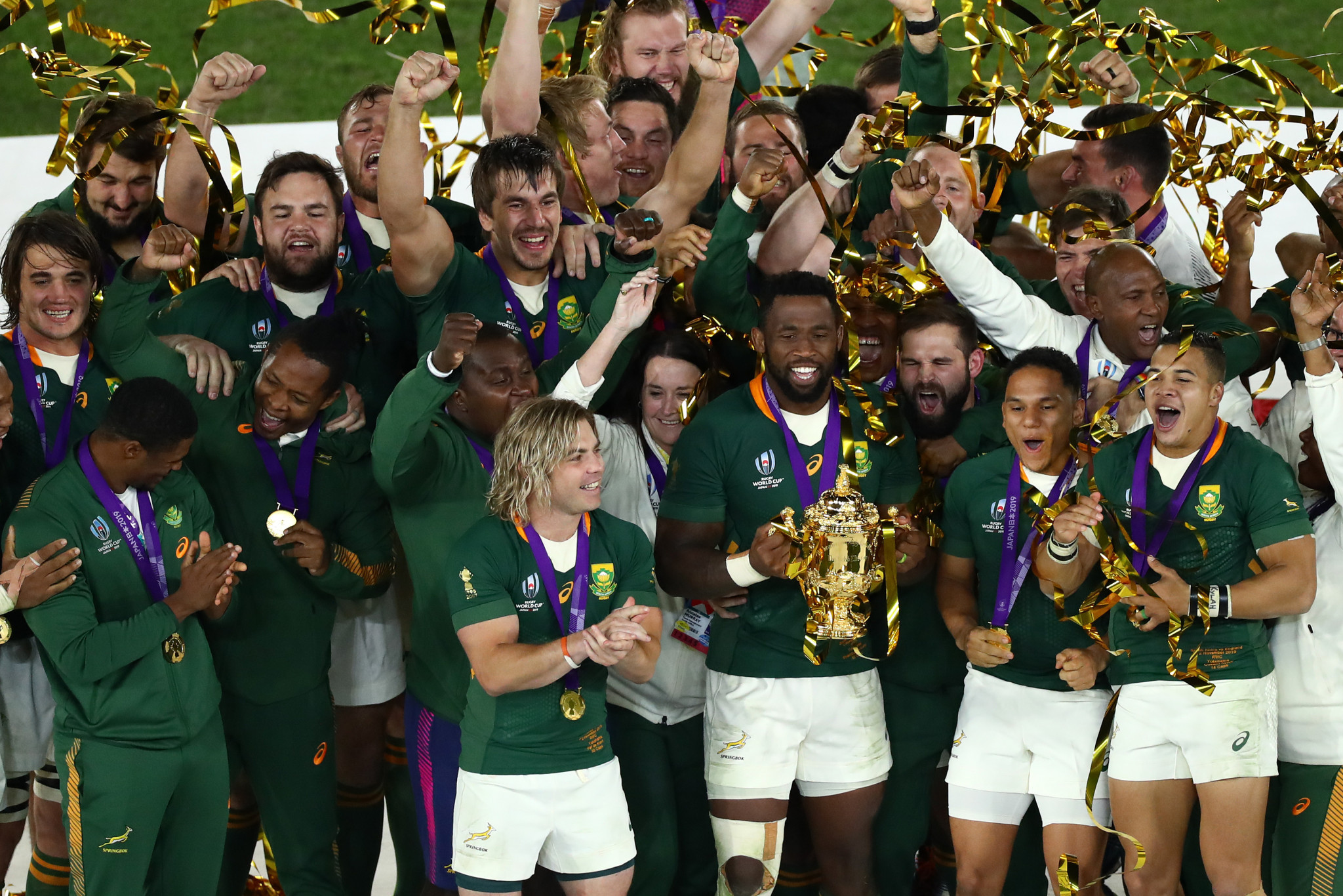 Rugby World Cup success leaves legacy and support for Tokyo 2020, report says