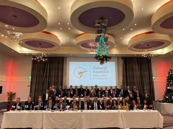 A number of decisions were taken at the World Taekwondo Europe General Assembly ©WTE