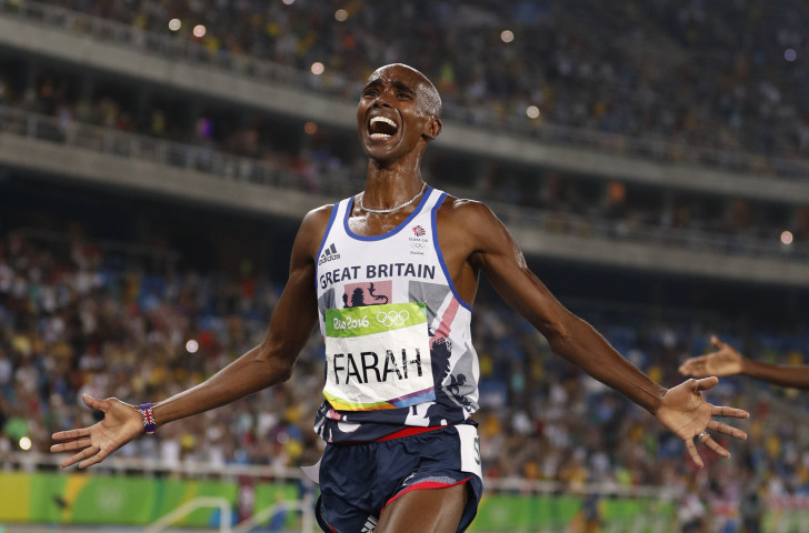 Sir Mo Farah won gold at Rio 2016 and wants to add a fifth Olympic title to his collection ©Getty Images