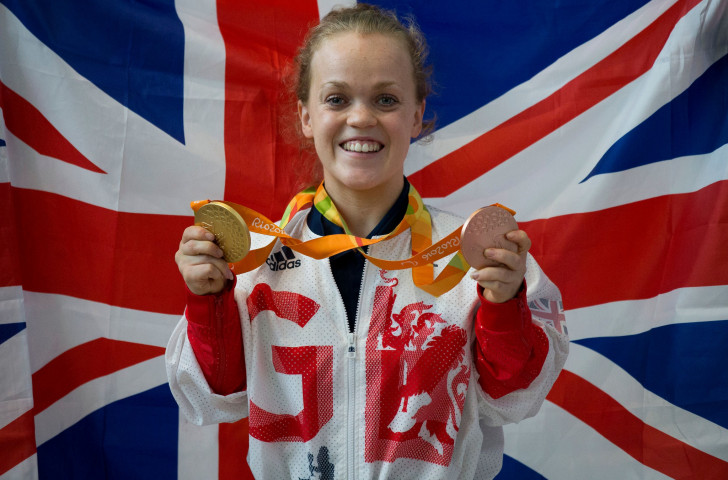 Ellie Simmonds, named as the latest Speedo ambassador, earned gold and bronze at the Rio 2016 Games but dropped out of the sport for a while ©Getty Images