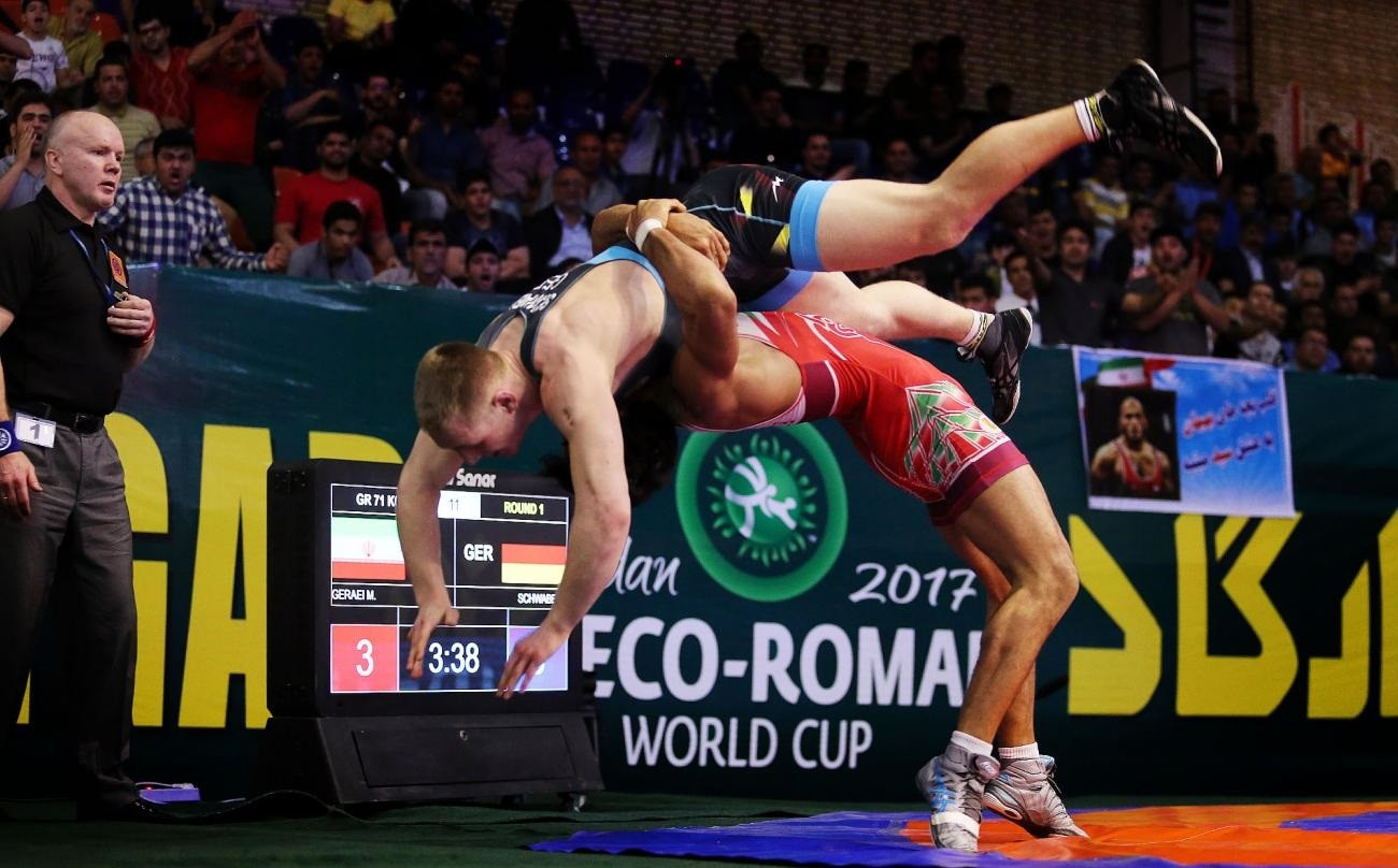 "Row breaks out after UWW postpone Greco-Roman World Cup in Iran due to ""instability"" in host country"