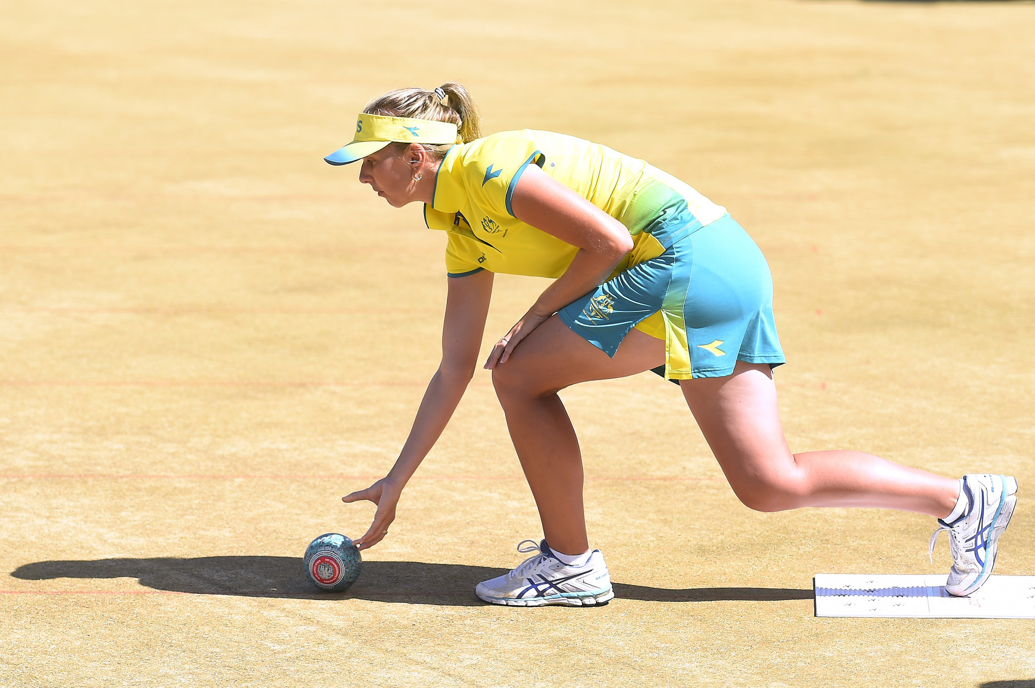 Australia hold narrow lead over Rest of World in World Bowls Challenge